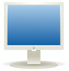 computer LCD display clip art