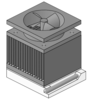 cpu heatsink fan socket clip art
