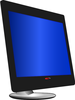large lcd monitor clip art