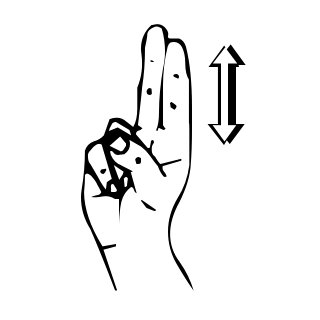 sign language german u diaeresis