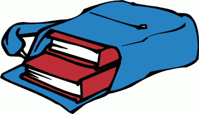 Books in Backpack