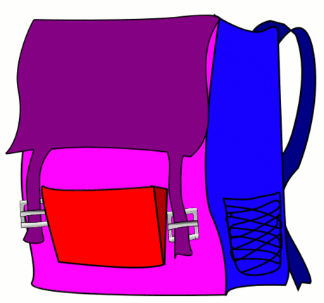 backpack basic bright