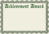 achievement award template clip art