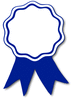 award ribbon blue clip art