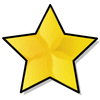 large gold star clip art