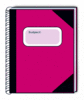 subject book pink clip art