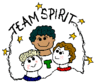 team spirit clip art