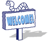 welcome blue 1 clip art
