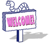 welcome blue 2 clip art