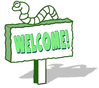 welcome green 2 clip art