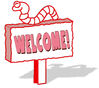 welcome red 2 clip art