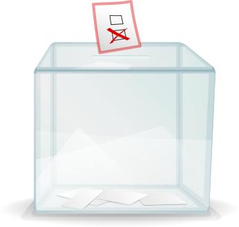 election poll box