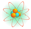 atomic particle clip art