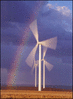 wind turbine color clip art