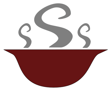 bowl of steaming soup