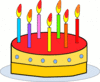 birthday cake large clip art