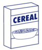 cereal box clip art