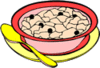 cereal hot clip art