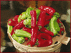 chilis basket clip art