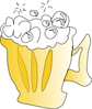 cool foamy beer clip art