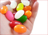 jelly beans in hand clip art