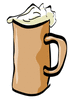 old mug of suds clip art