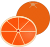 orange 13 clip art