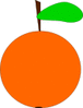 orange icon clip art