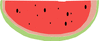 watermelon 12 clip art