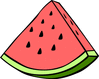 watermelon wedge clip art