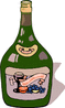 wine bottle 1 clip art