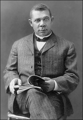 African American Booker T Washington