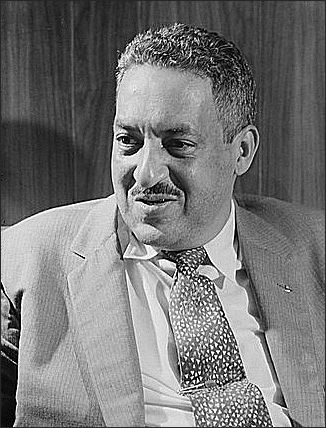 African American Thurgood Marshall