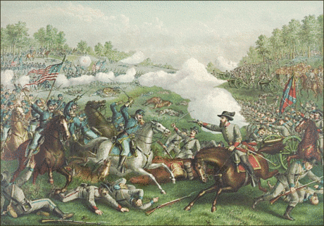 Battle battle of Opequan of Winchester 1864
