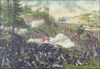Battle battle of Chickamauga clip art
