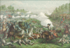 Battle battle of Opequan of Winchester 1864 clip art