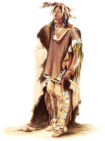 A Sioux warrior