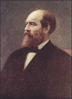 1881 James Garfield clip art