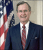 1989 93 George H W Bush clip art