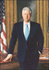 1993 2001 William Clinton clip art