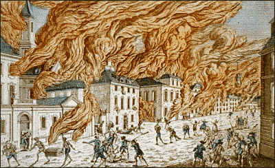 Burning of NY by Americans