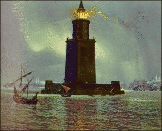 7 seven ancient wonders lighthouse of Alexandria