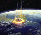 earth history asteroid impact KT extinction