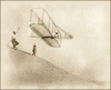 wright brothers in 1901 clip art