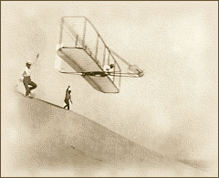 wright brothers in 1901