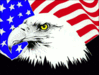 4th July eagle flag clip art
