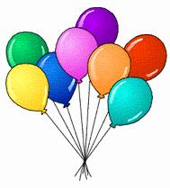 Birthday birthday balloons