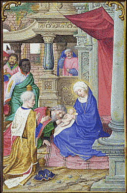 christmas Adoration of the Magi Bening