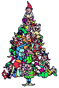 christmas elftree