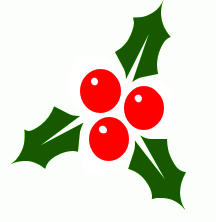 christmas holly5